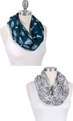Bebe Au Lait Montauk & Mayura Set of 2 Jersey Nursing Cover Scarves