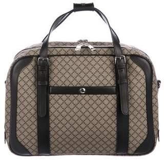 Gucci Diamante Supreme Briefcase
