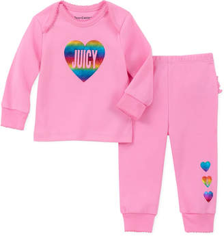 Juicy Couture 2Pc Layette & Pant Set