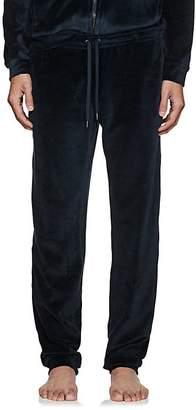 Derek Rose Men's Nico Cotton-Blend Velour Pants