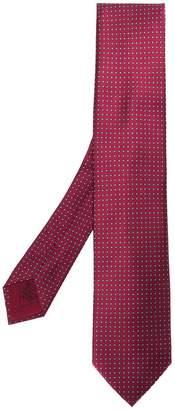 Brioni geometrical print tie