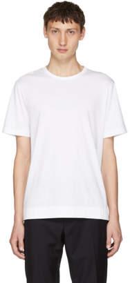 Joseph White Mercerized Jersey T-Shirt