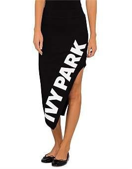 Ivy Park Logo Driver Cutaway Skirt