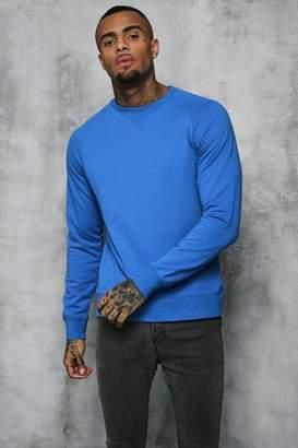 boohoo Basic Lightweight Crew Neck Sweater