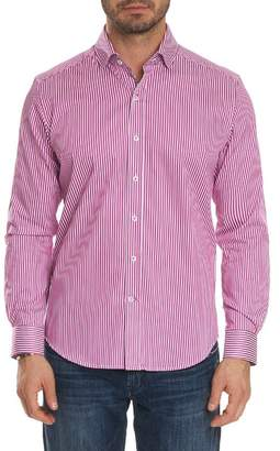 Robert Graham Luther Classic Fit Stripe Sport Shirt
