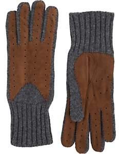Barneys New York Women's Driving Gloves - Brown