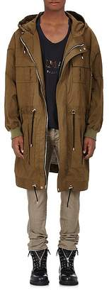 Balmain BALMAIN MEN'S COTTON HOODED PARKA $2,730 thestylecure.com