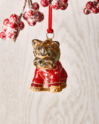 Joy To The World Collectibles Yorkshire Terrier in Puffy Coat Ornament