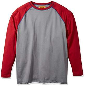 Wrangler Men's Big and Tall Flame Resistant Baseball Tee