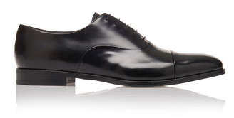 Prada Cap-Toe Leather Dress Shoes