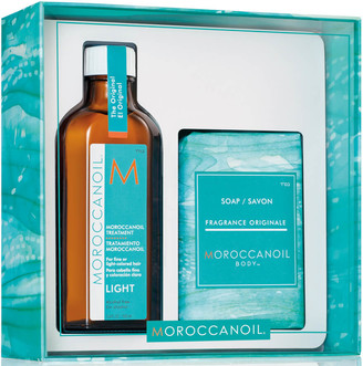 Moroccanoil Simply Beautiful Gift Set - Treatment Light (Worth 45.45)