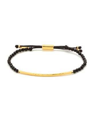 Gorjana Power Gemstone Black Onyx Bracelet for Protection, Gold