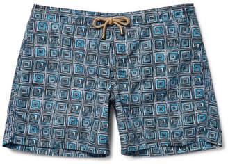 Thorsun Titan Slim-Fit Mid-Length Printed Swim Shorts