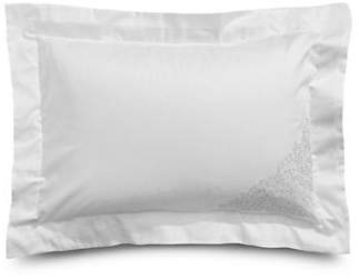 Frette AT HOME Noto Ricamo 280 Thread Count Cotton Sham