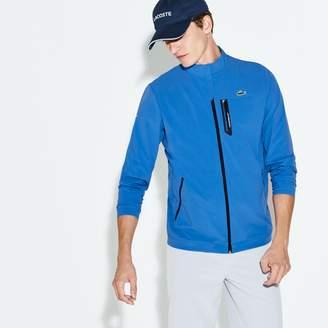 Lacoste Men's SPORT Technical Taffeta Zip Golf Jacket