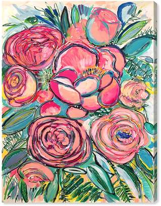 Oliver Gal Gallery Blessed Garden Canvas Art