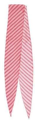 Balenciaga Striped Woven Scarf