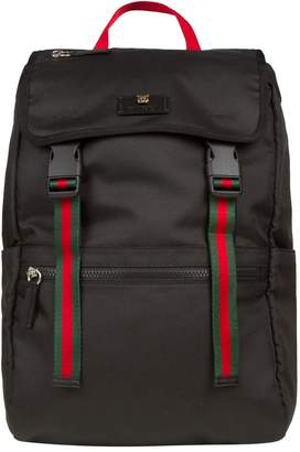Gucci Technical Canvas Backpack