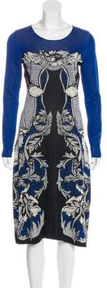 Temperley London Floral Midi Dress