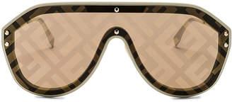 Fendi Logo Face Sunglasses