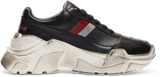 Joshua Sanders Black Zenith Shadow Sneakers