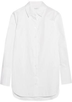 Equipment Arlette Cotton-poplin Shirt - White