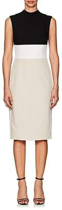 Narciso Rodriguez Women's Colorblocked Wool Sheath Dress