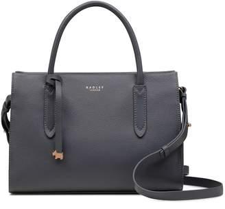 Next Womens Radley Charcoal Medium Multiway Grab Compartment Bag
