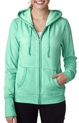 Oasis J. America J America Ladies' Wash Full-Zip Hood