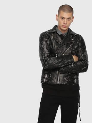 Diesel Leather jackets 0EAUS - Black - S