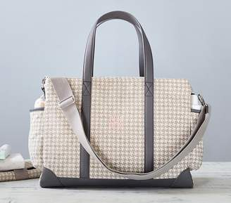 Pottery Barn Kids Classic Diaper Bag -Houndstooth