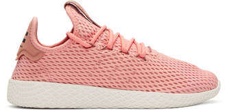 adidas x Pharrell Williams Pink Tennis Hu Sneakers