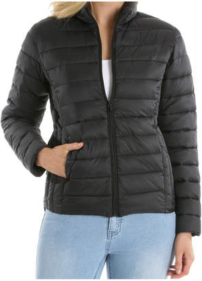 Regatta Superlight Quilted Jacket With Stand Collar-Black / Black RW19545-CW2
