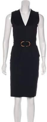 Gucci Sleeveless Knee-Length Sheath Dress