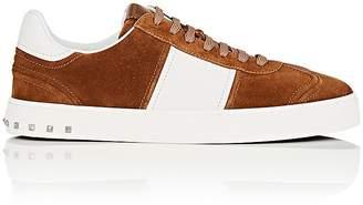 Valentino Men's Flycrew Suede & Leather Sneakers