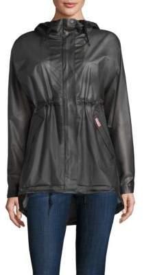 Hunter Solid Long-Sleeve Waterproof Jacket