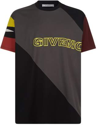 Givenchy Logo Panel Oversized T-Shirt