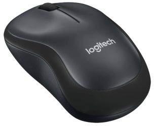 Logitech M220 Silent Rf Wireless Optical 1000Dpi Charcoal Ambidextrous