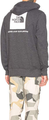 The North Face Red Box Pullover Hoodie in TNF Dark Grey Heather & TNF White | FWRD