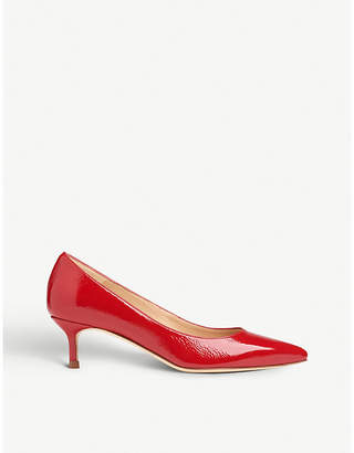 LK Bennett Audrey patent leather courts