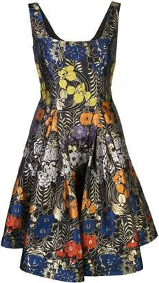 Zac Posen Dita floral print dress