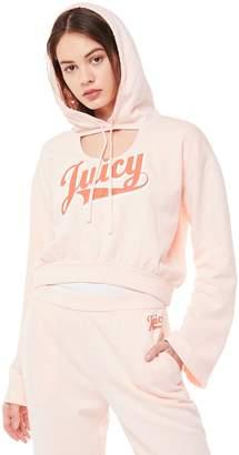 Juicy Couture Jxjc Script Logo Fleece Pullover