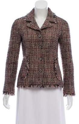 Chanel Fringe-Trimmed Wool Jacket