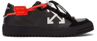 Off-White Off White 3.0 Polo Leather Trainers - Mens - Black Multi