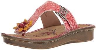 Spring Step L'Artiste by Women's Aldora-Rd Wedge Slide Sandal