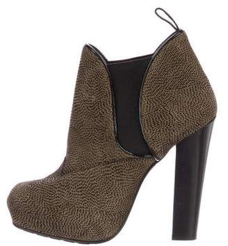 Proenza Schouler Velvet Ankle Boots