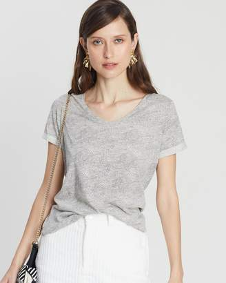 Maison Scotch All-Over Printed SS Tee