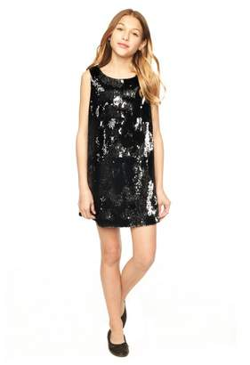 Milly Minis Sequins Kat Bow Back Shift
