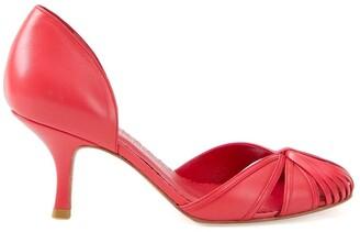 Sarah Chofakian round toe pumps