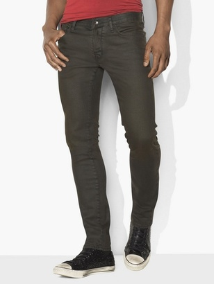 Wight Coated Stretch Jean $228 thestylecure.com